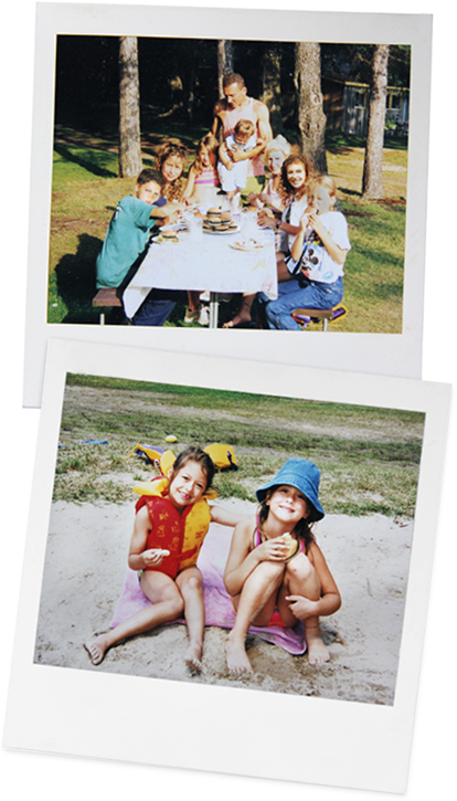 old picnic images